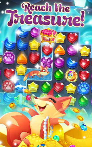 Genies & Gems - Jewel & Gem Matching Adventure screenshot 1