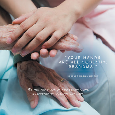 Your Hands Are All Squishy, Grandma!