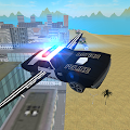 Flying Police Car: San Andreas APK for Bluestacks