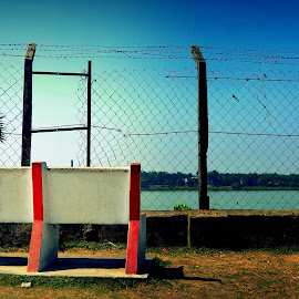 Wait until you get the chance to ESCAPE  by Santanu Goswami - City,  Street & Park  City Parks