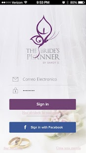 The Bride's Planner - screenshot