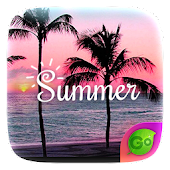 Summer GO Keyboard Theme Icon