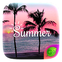 Summer GO Keyboard Theme For PC (Windows And Mac)