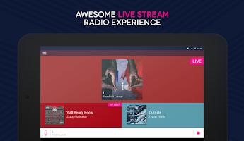Screenshot of Capital XTRA Radio App