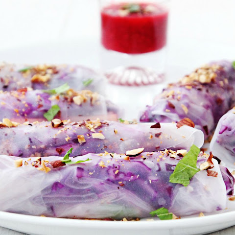 Sweet Summer Rolls [Vegan, Raw, Gluten-Free]