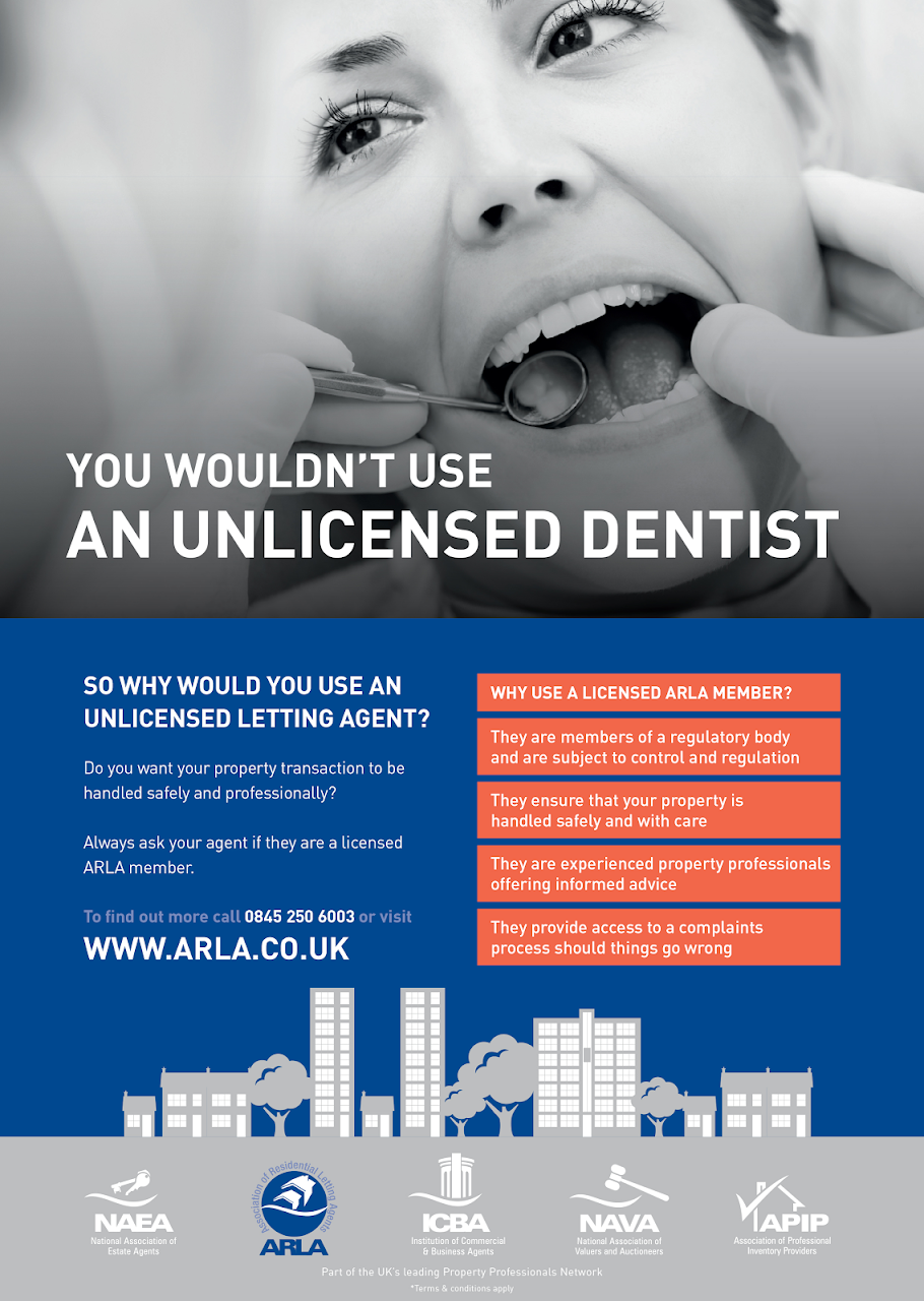 Unlicensed Dentist | Wycombe | Paul Kingham Letting Agents
