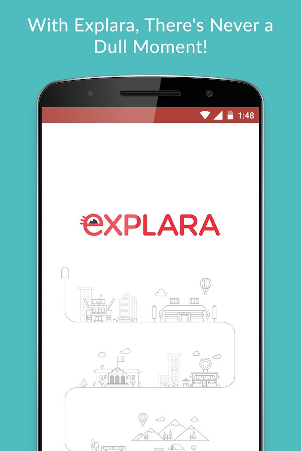 EXPLARA - Events & Experiences Screenshot 0