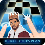 Drake - Gods Plan Piano Tiles Icon