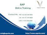 SAP Online Training in Pune