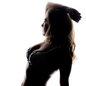 Boudoir Silhouette  by Robin Haws - Nudes & Boudoir Boudoir ( lingerie, chic, silhouette, boudoir )