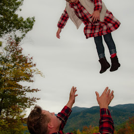 OOPS! by Chris Cavallo - People Family ( dad, famous, mountains, girl, catch, candid )
