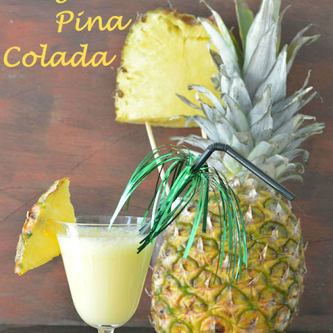 Virgin Pina Colada Mocktail