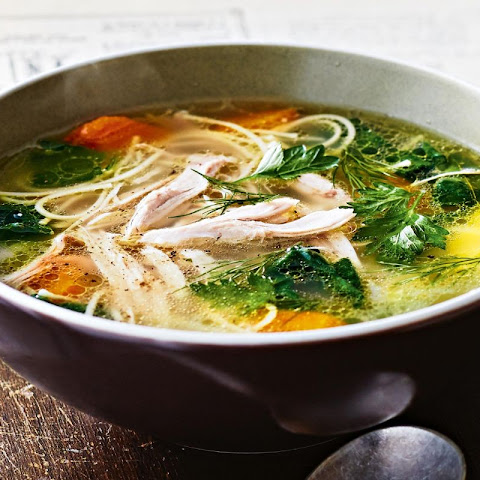 Chicken Noodle Soup With Sesame And Ginger