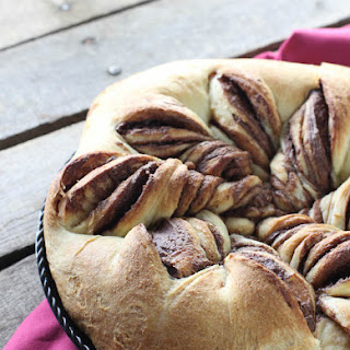 Chocolate Hazelnut Swirl Bread
