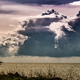 Majestic Storm  by Matthew Molt - Landscapes Cloud Formations ( cloud formations, clouds, sky, nature, clouds and sea, cloudscape, landscape,  )