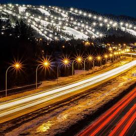 by Bogdan Marin - City,  Street & Park  Night