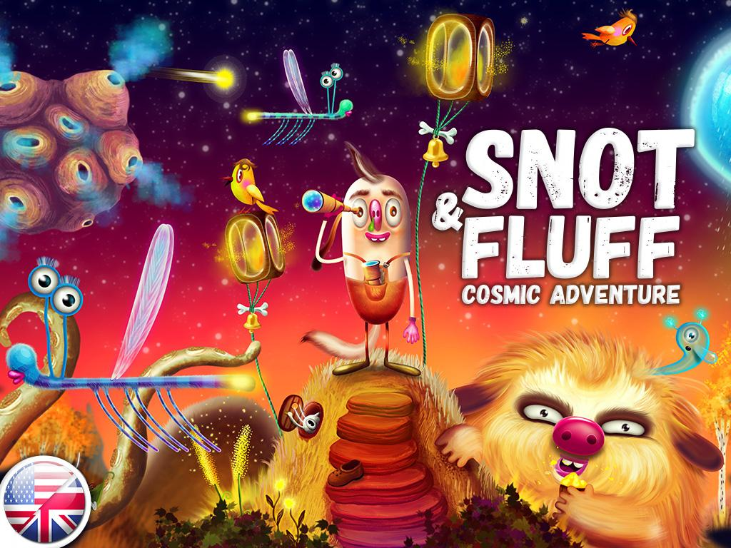 Snot & Fluff - Kids Story Book Screenshot 5