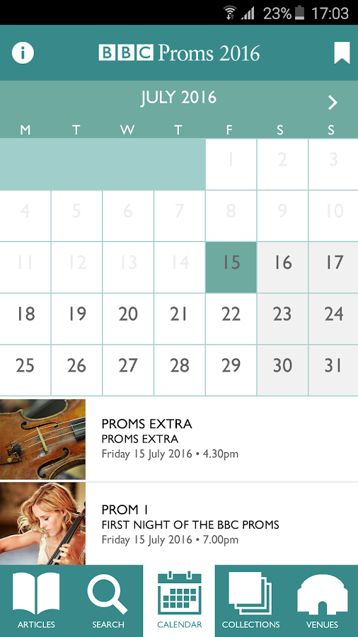 BBC Proms 2016: Official Guide Screenshot 3