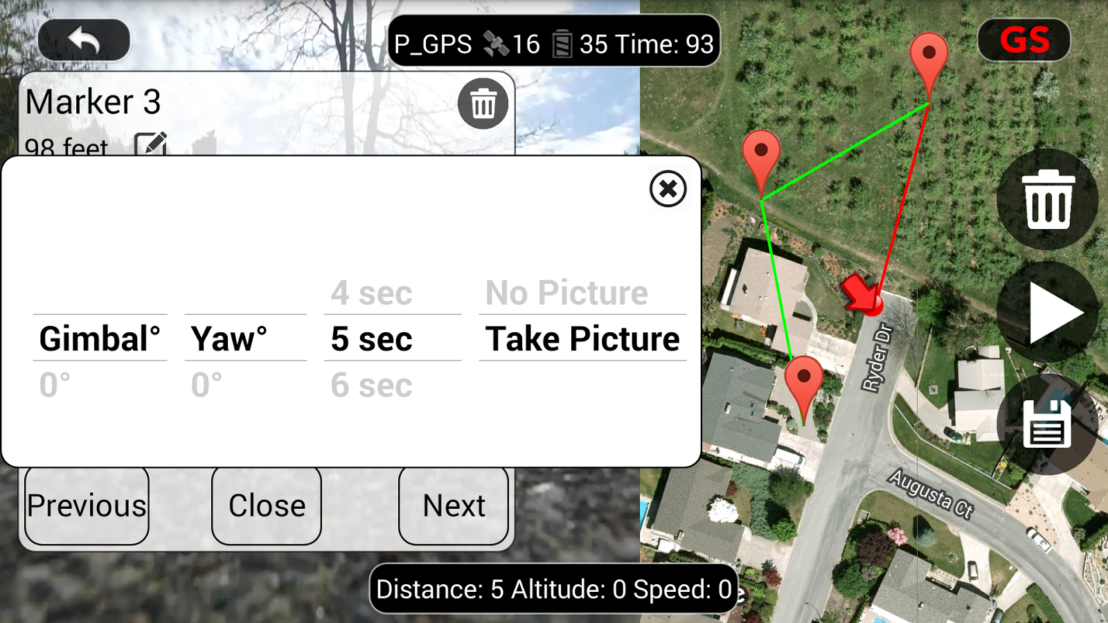 DJI Phantom Flight (v3) Screenshot 3