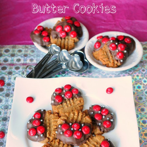 3 Ingredient Peanut Butter Cookies {Gluten Free}