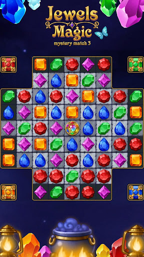 Jewels Magic: Mystery Match3 For PC