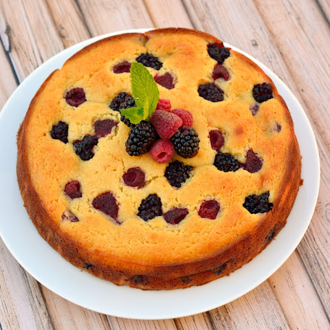 Ricotta Cake Berries Recipes | Yummly