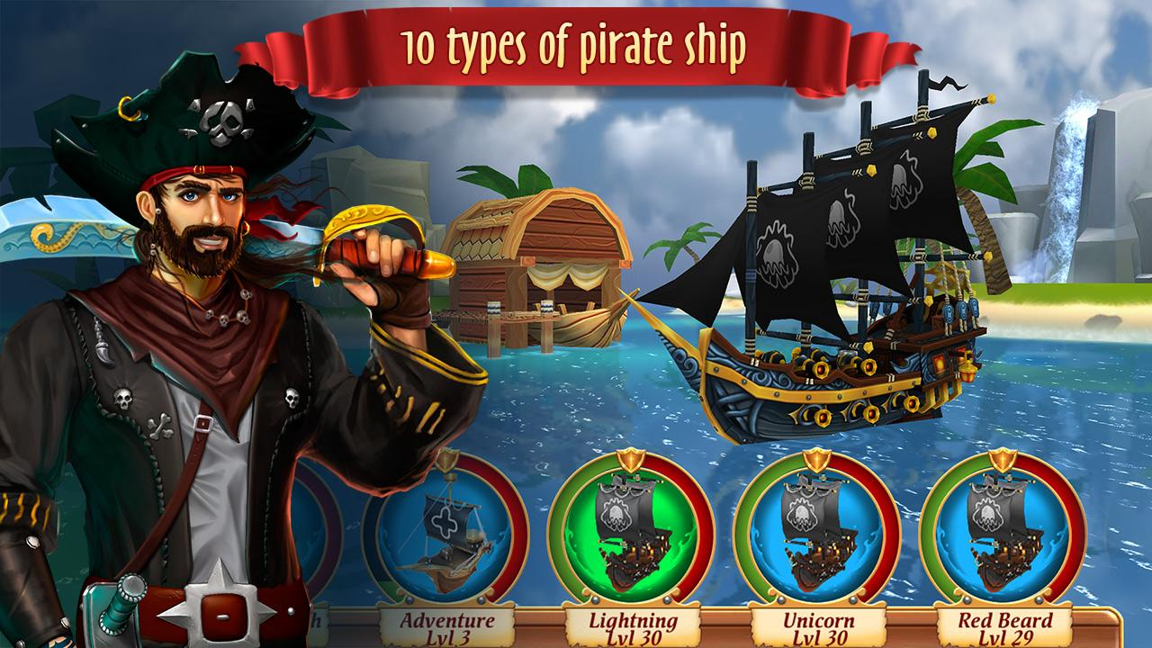 Pirate Battles: Corsairs Bay Screenshot 1