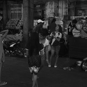 The Spotted by Mark Anthony Jimena - Black & White Street & Candid ( black and white, street, philippines, people, photography,  )