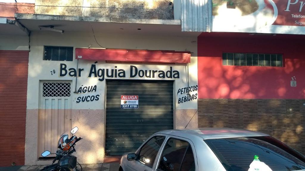 Ponto comercial para locação, São Benedito, Uberaba - PT0101.
