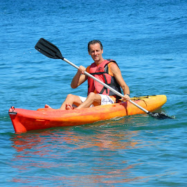 Kayak :) by Vera Vilela - Sports & Fitness Watersports
