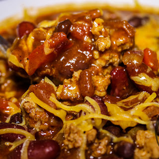 Quick BODYBUILDING Turkey Chili