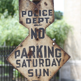 no parking  by John Lebron - Transportation Other
