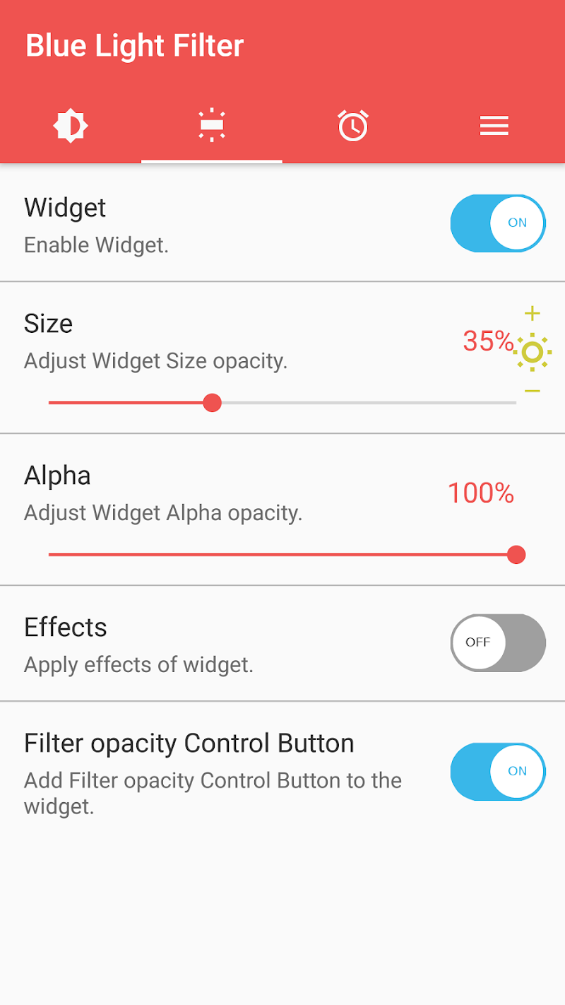 sFilter - Blue Light Filter Screenshot 3