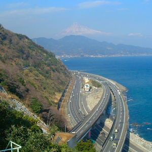 Japan:Sattatoge and MT.fuji