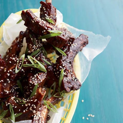 Asian Fried and Glazed Baby Back Ribs