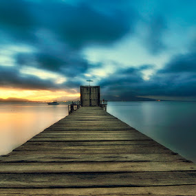 Silent Morning by Dhiean Kukuh - Landscapes Waterscapes