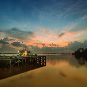 Sun already Set by Andi Adinata - Landscapes Sunsets & Sunrises