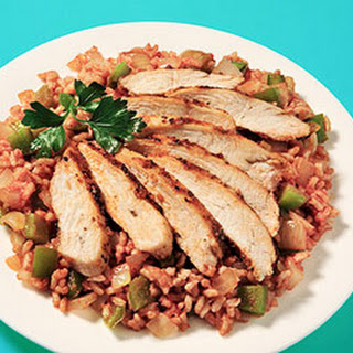 Cajun Chicken With Dirty Rice
