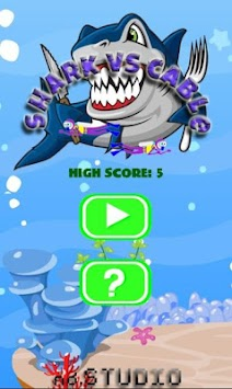 Shark Vs Cable apk screenshot