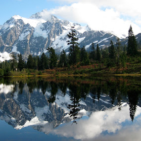 Hiking in the North Cascades by deleted_Carolyn deleted_Votaw - Landscapes Mountains & Hills
