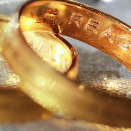 Name 1 by Brandon Gumansing - Wedding Details ( canon, love, ring, macro, wedding )