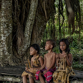 they are by Hill S - Babies & Children Children Candids ( indonesia, children, traditional, java, villages, asian )