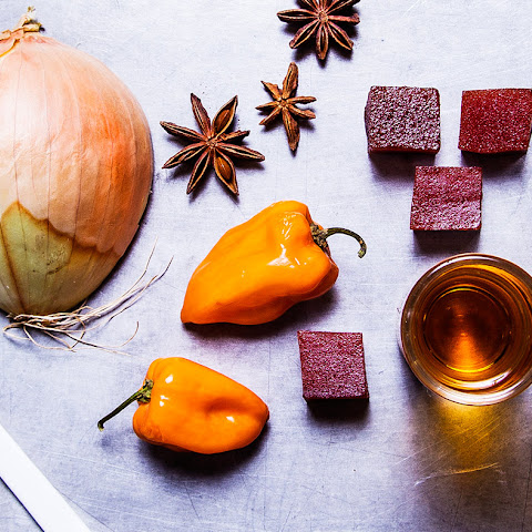 Spicy Guava and Habanero Rum Sauce