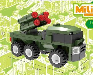 """Конструктор SuperBlock """"Военные маневры"""" ПВО M"""