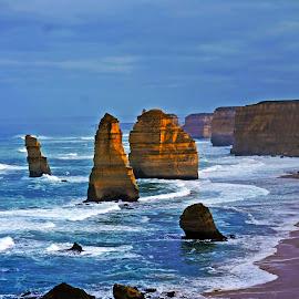12 apostles  by Rudy Pras - Landscapes Beaches ( great ocean road, the rocks, victoria australia, 12apostles, selfdrive )