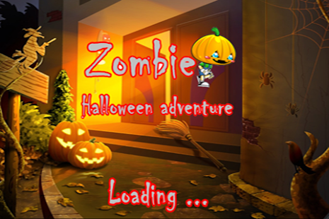 Zombie Halloween Adventure - screenshot