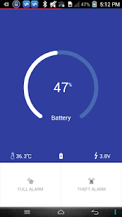 Full Battery Alarm Master - screenshot