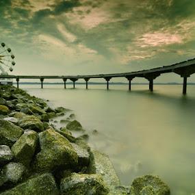 ocarina sunrise by Assoka Andrya - Landscapes Weather