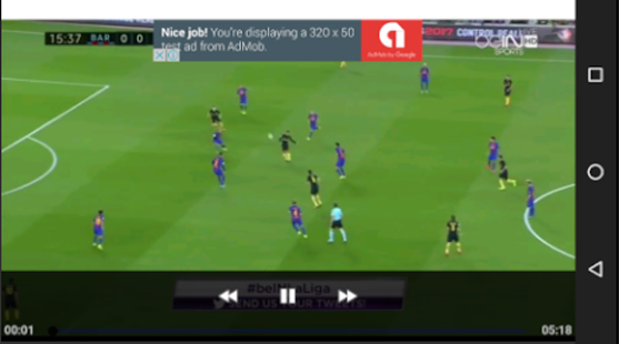 Soccer Highlights Full Match - screenshot
