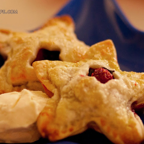 Star Berry Pies